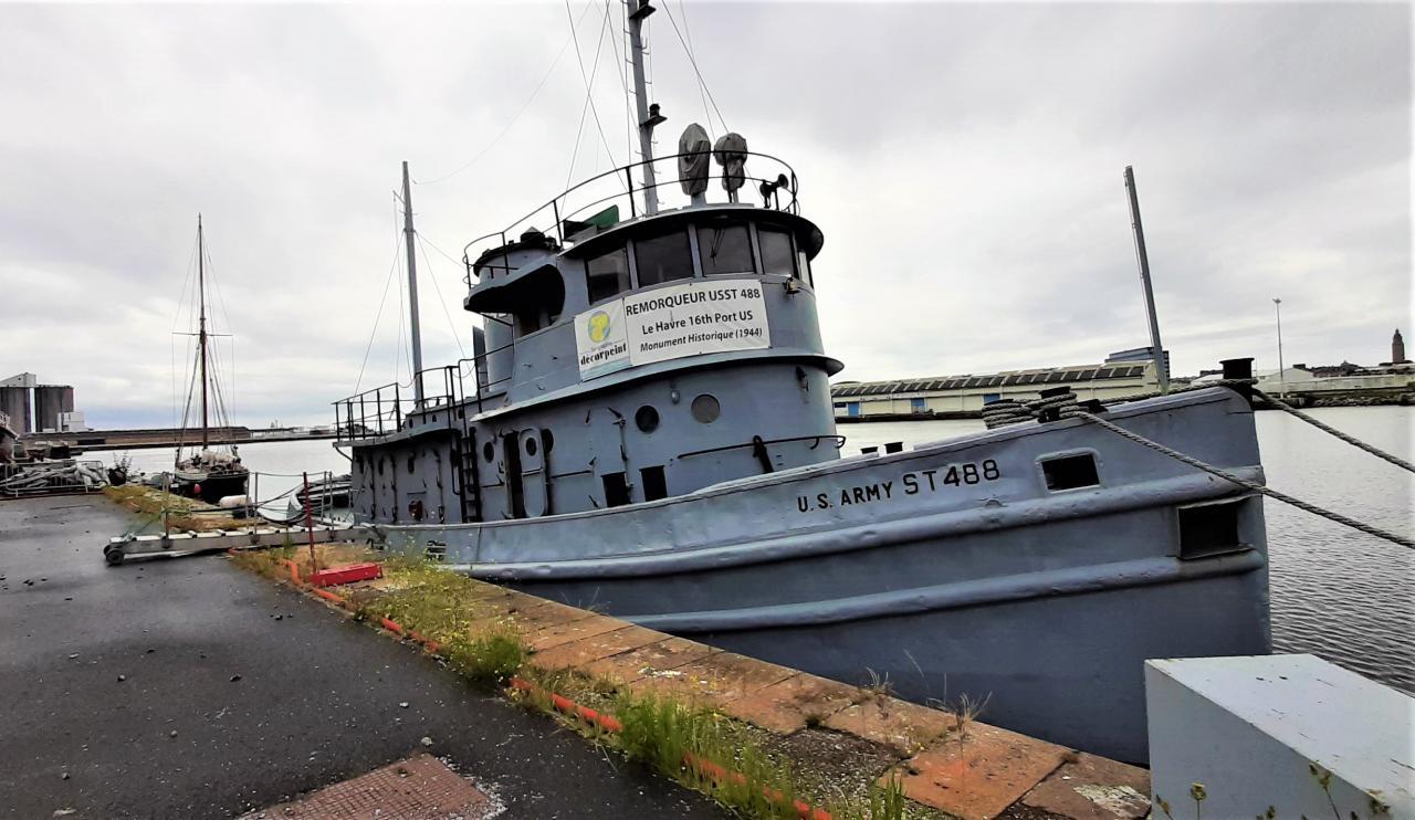 Le USST 488, contrairement au Sally, est bel et bien toujours à flot ! © Marc Langleur