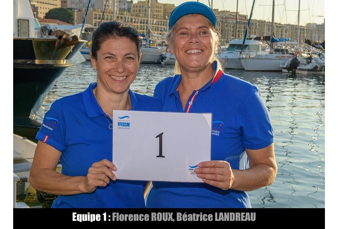 équipe n° 1 - Florence Roux et Béatrice Landreau