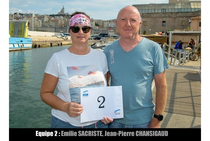 équipe n° 2 - Émilie Sacriste et Jean-Pierre Chansigaud