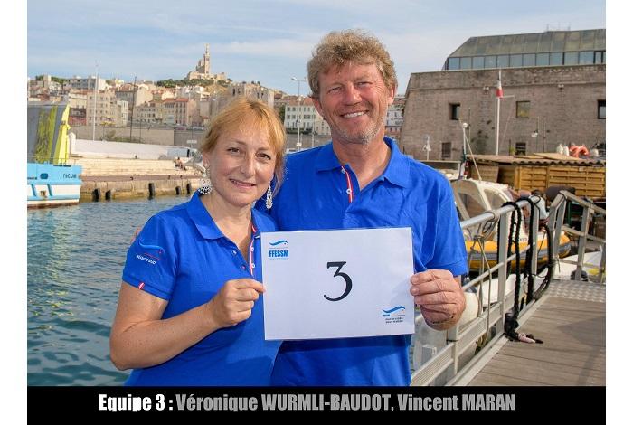 équipe n° 3 - Véronique Wurmli-Baudot et Vincent Maran