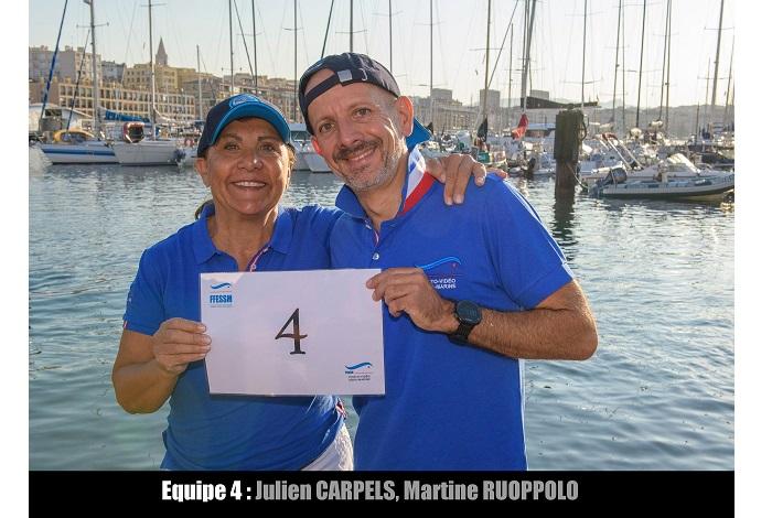 équipe n° 4 - Julien Carpels et Martine Ruoppolo