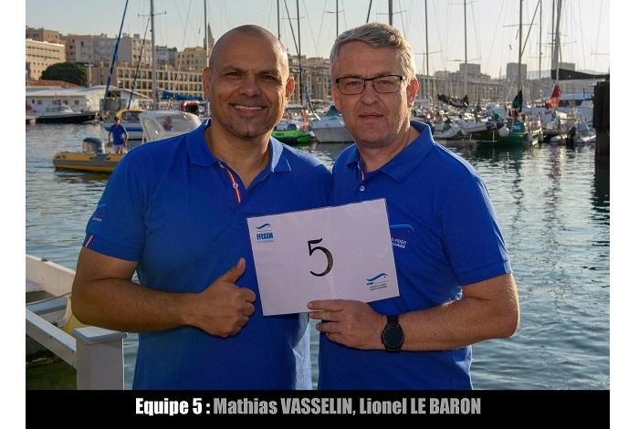 équipe n° 5 - Mathias Vasselin et Lionel Le Baron