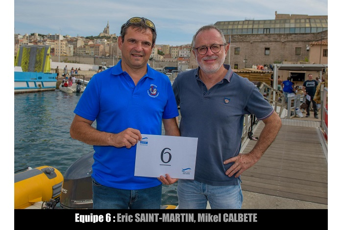 équipe n° 6 - Éric Saint-Martin et Mikel Calbete