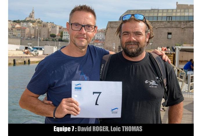 équipe n° 7 - David Roger et Loic Thomas