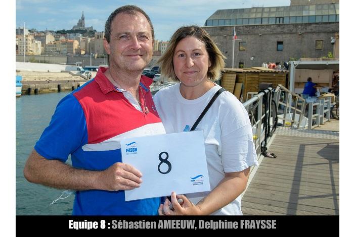 équipe n° 8 - Sébastien Ameeuw et Delphine Fraysse