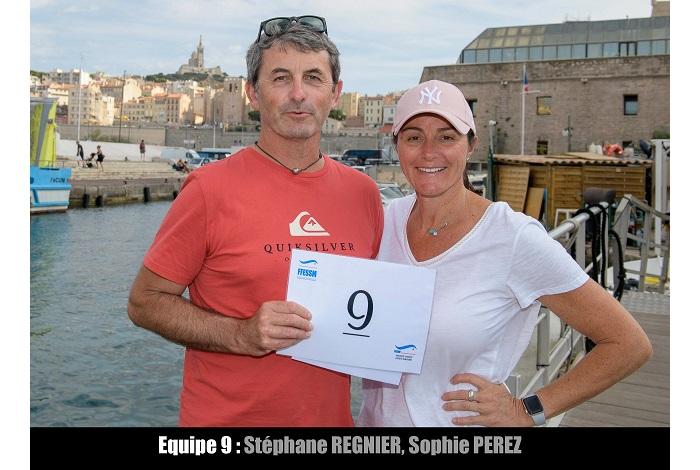 équipe n° 9 - Stéphane Regnier et Sophie Perez
