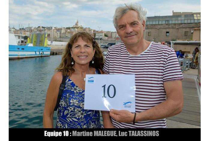 équipe n° 10 - Martine Malegue et Luc Talassinos