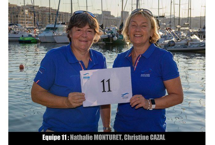 équipe n° 11 - Nathalie Monturet et Christine Cazal