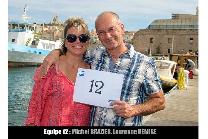 équipe n° 12 - Michel Brazier et Laurence Remise