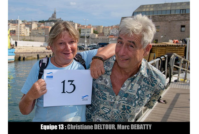 équipe n° 13 - Christiane Deltour et Marc Debatty