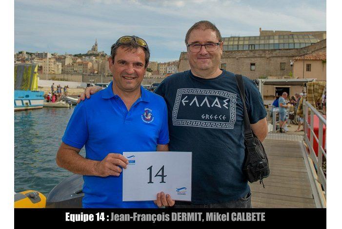 équipe n° 14 - Jean-François Dermit et Mikel Calbete