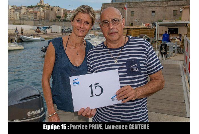 équipe n° 15 - Patrice Privé et Laurence Centene