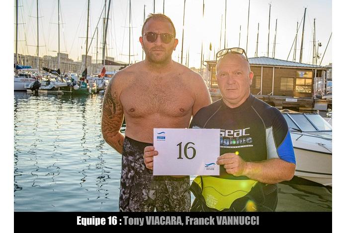 équipe n° 16 - Tony Viacara et Franck Vannucci