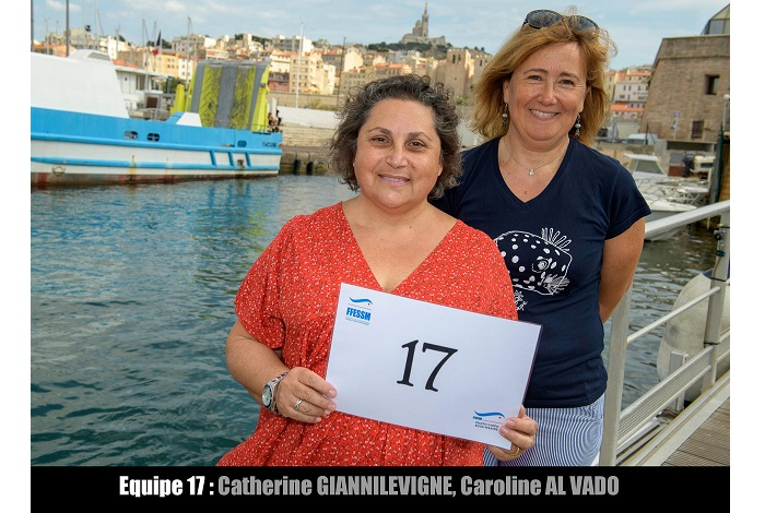 équipe n° 17 - Catherine Giannilevigne et Caroline Al Vado