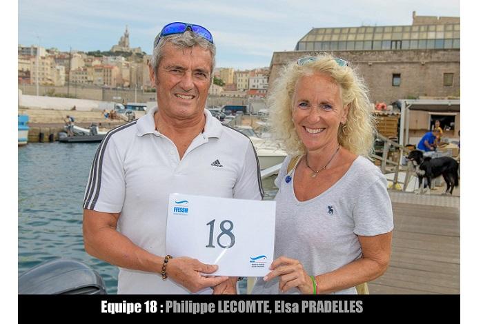équipe n° 18 - Philippe Lecomte et Elsa Pradelles