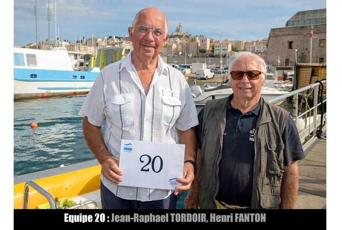 équipe n° 20 - Jean-Raphael Tordoir et Henri Fanton