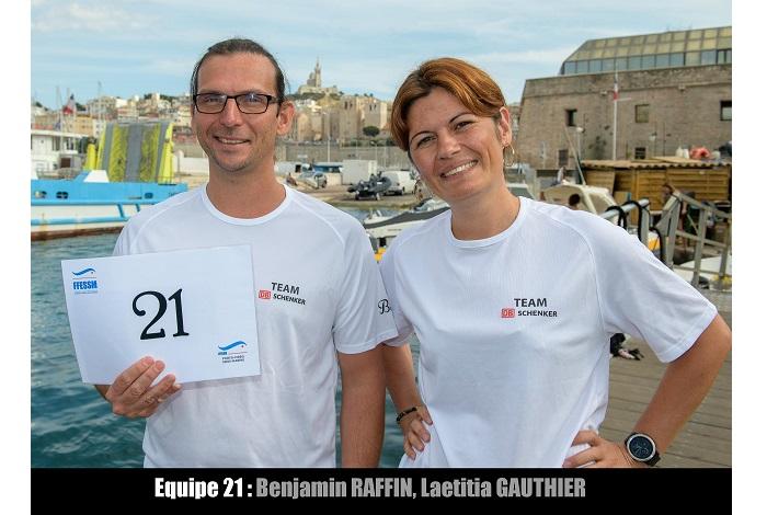 équipe n° 21 - Benjamin Raffin et Laetitia Gauthier